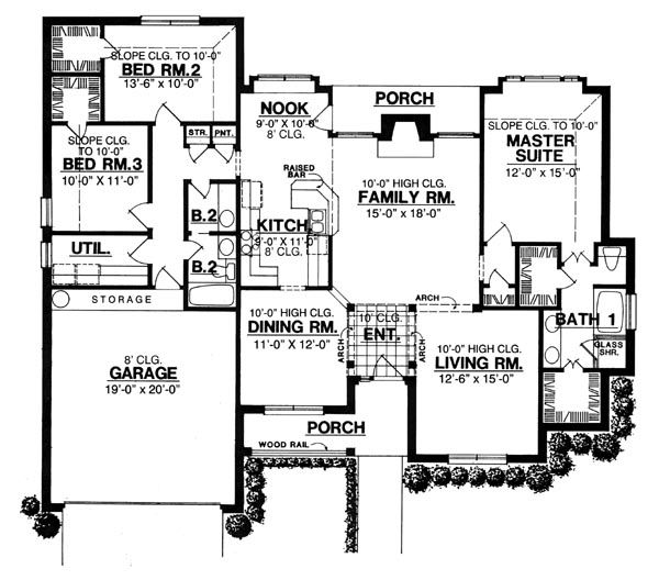 Featured House Plan BHG 8188