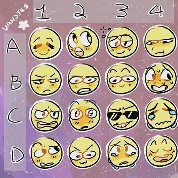 (anime face drawing facial expressions) Drawing