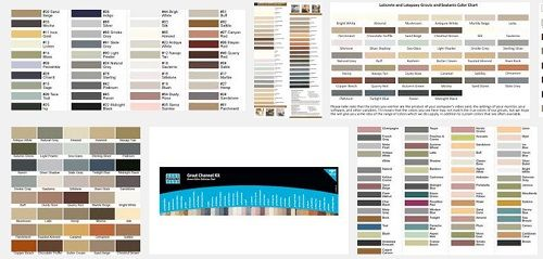 Comparison Of Tec Grout Colors For A Kitchen Backsplash D Oh I Y