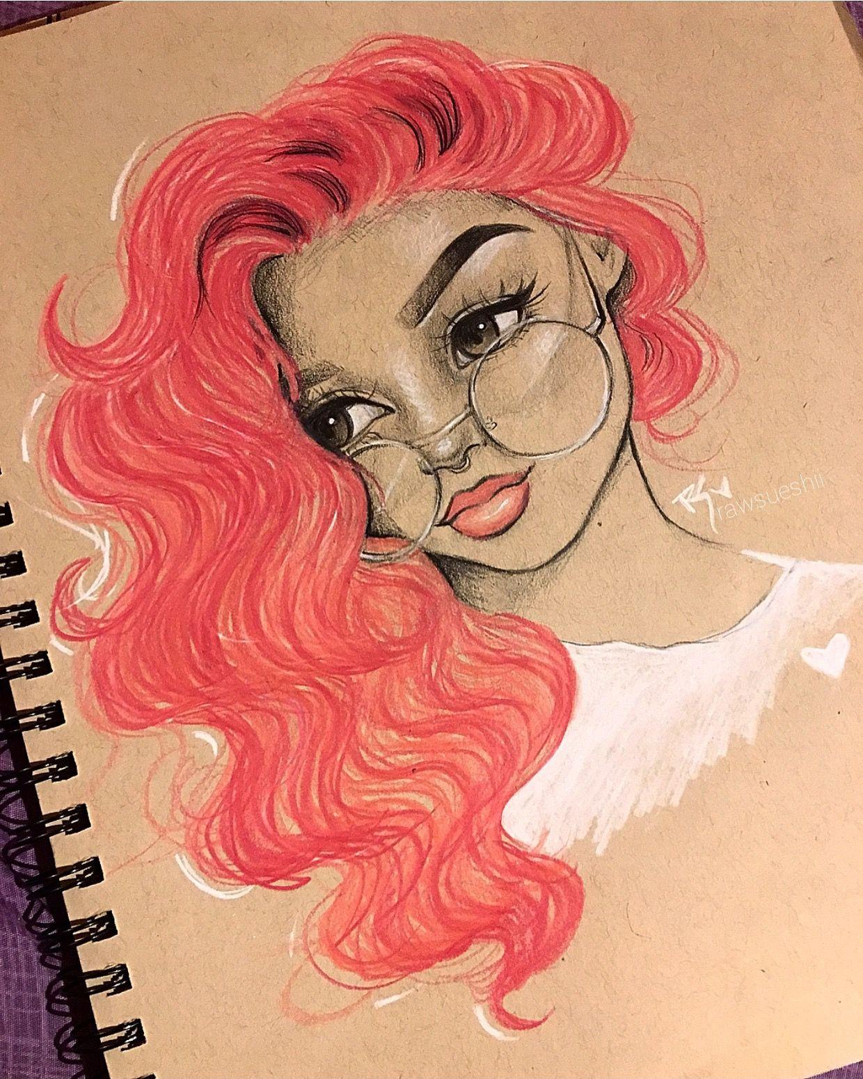 Epingle Par Rawsueshii Sur Rawsueshii Designs Portrait Au Crayon Dessin Cheuveux Dessin Visage