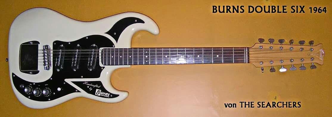 Pin by Jens Johnsen on Burns guitars | Pinterest | Burns and Guitars