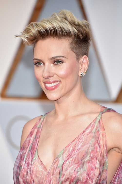 Latest Looks Of Female Celebrities With Short Hairdos In 2020 Short Hair Styles Easy Short Hair Styles Celebrity Short Hair