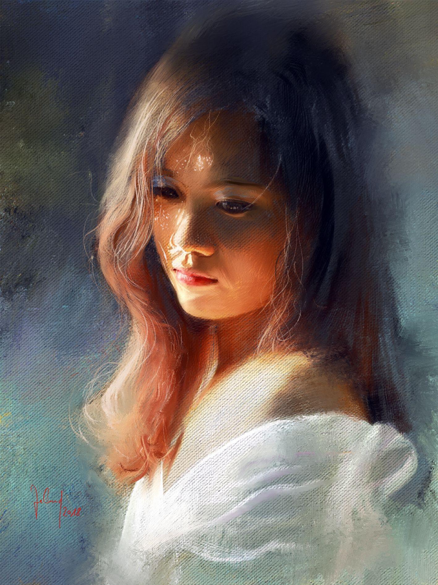 Digitale Malerei Von Eva Boros Dasauge