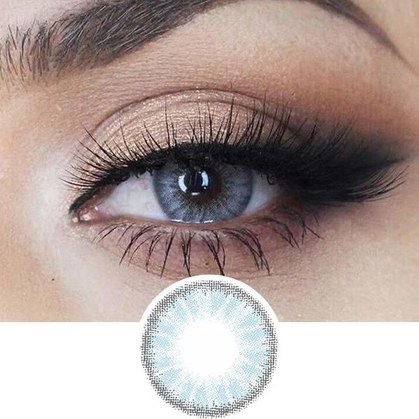 EyeCandys Desire Glacier Blue #coloredeyecontacts