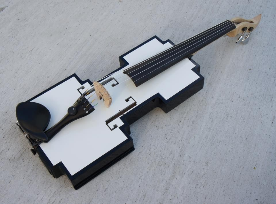 8 bit MIDI violin - Electric Violin Lutherie   Electric Violin