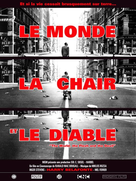 Le Monde La Chair Et Le Diable Affiche Ranald Macdougall Film Classique Film Meilleurs Films