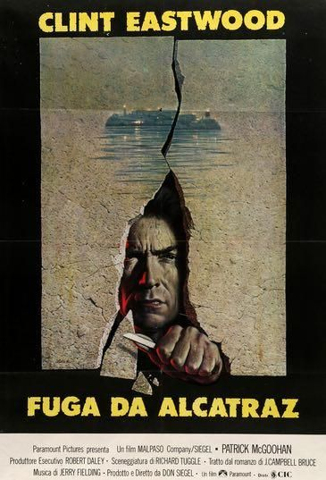 Escape From Alcatraz 1979 Alcatraz Clint Eastwood Movies