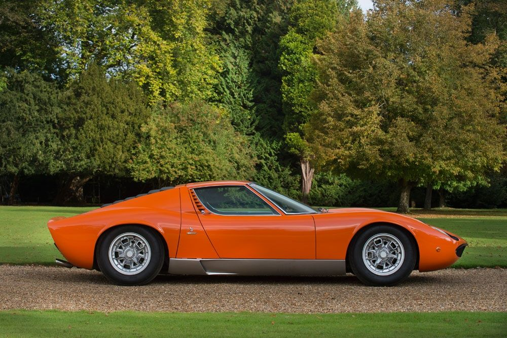 1969 Lamborghini Miura P400 S Classic Driver Market Everything