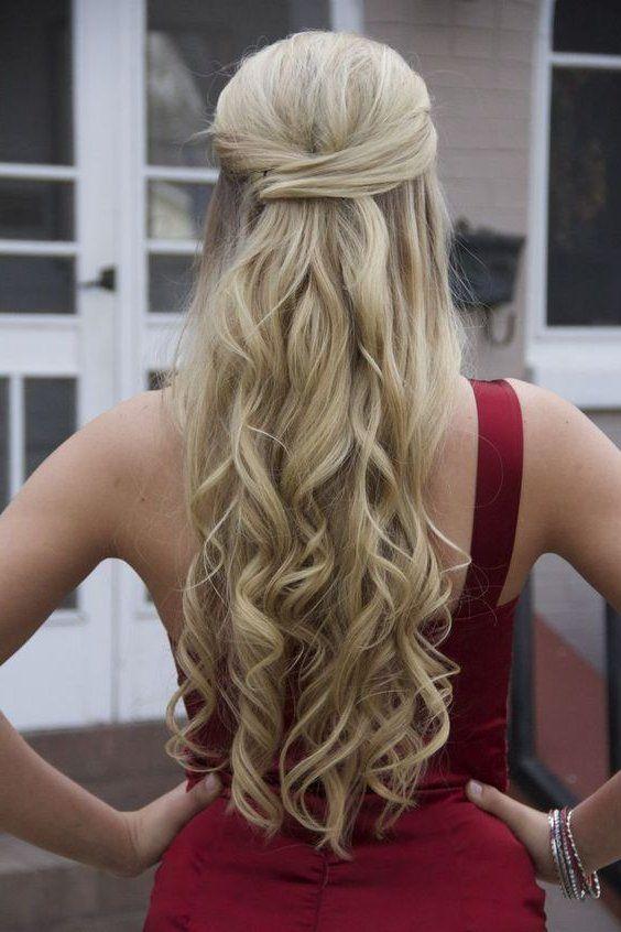 Resultado De Imagen Para Peinados Semirecogidos Peinados - Semi-recojidos