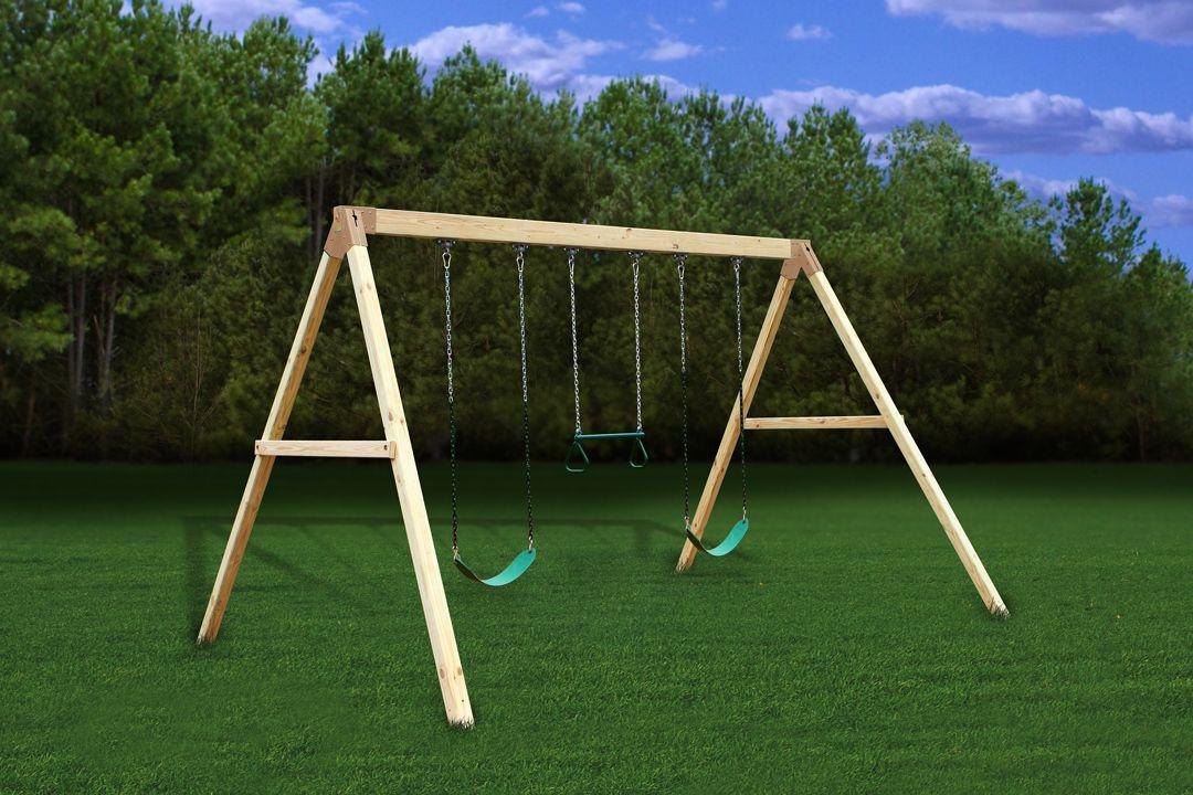 Settler Swing Beam Kit With Plans Hardware Swing Set Diy Swing Set Plans Wooden Swing Set
