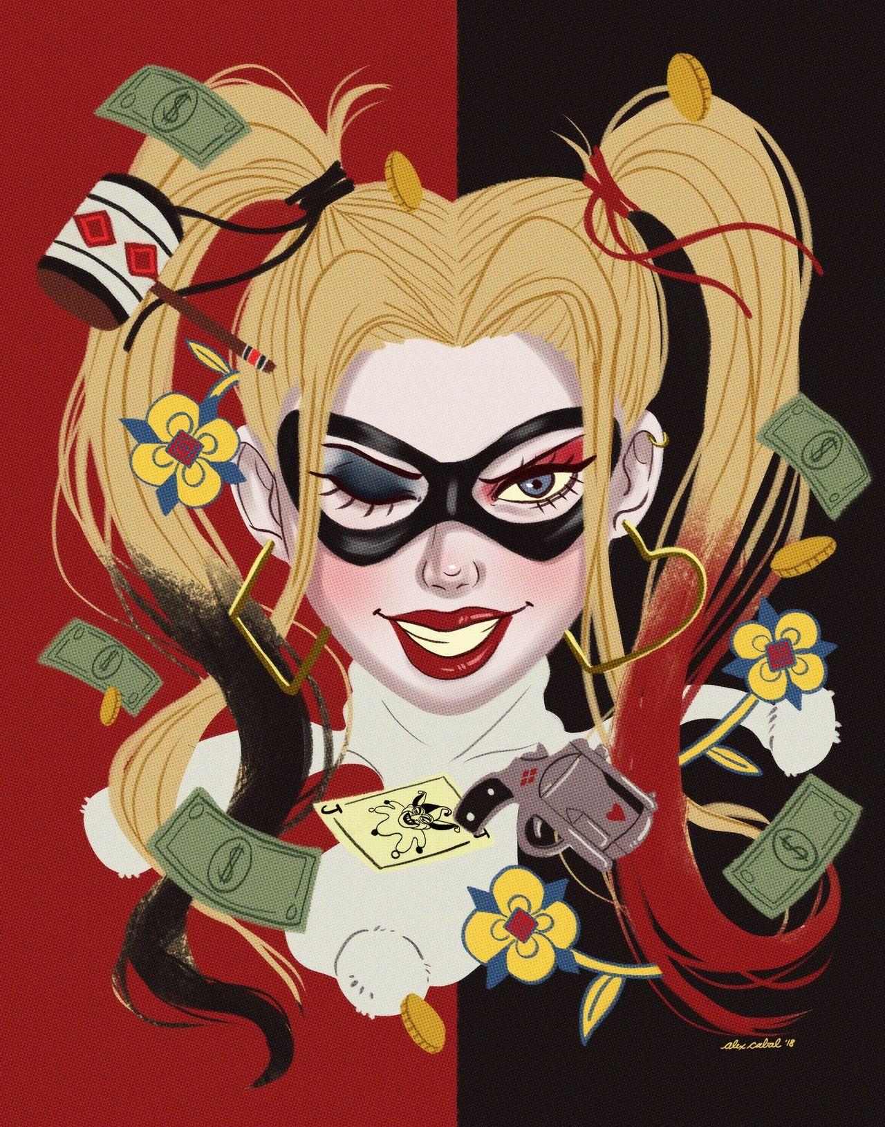 Harley quinn dessin harley quinn - Comment dessiner joker ...