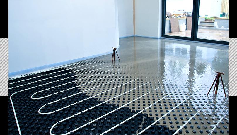 lopro max retrofit underfloor heating room makeover. Black Bedroom Furniture Sets. Home Design Ideas