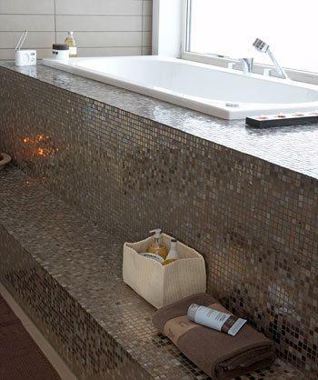 Wow blijft mooi voor de badkamer, mozaïek tegels! | Interior ...