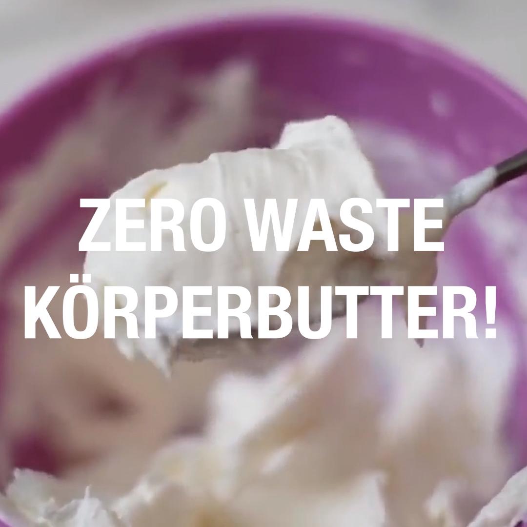 Zero Waste Körperbutter