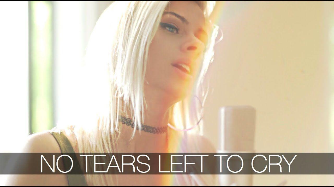 Andie Case Heeft Ariana Grande S Klapper No Tears Left To Cry