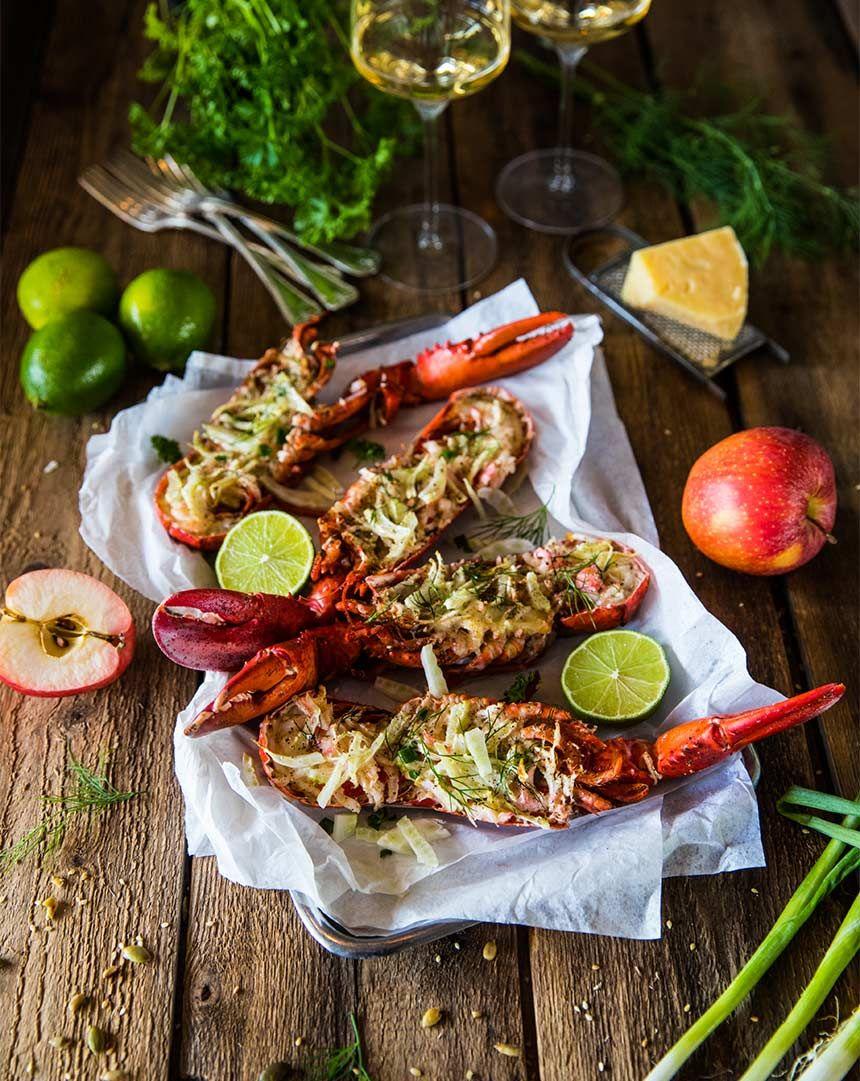Gratinerad hummer in 2020 | Quinoa salad recipes easy