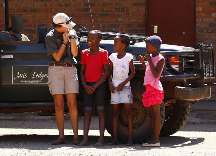 Jaci's Lodges invests in the community around Madikwe Game Reserve.