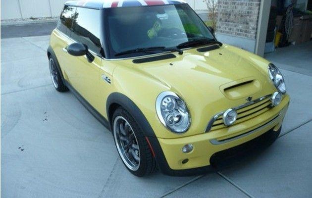 Mini Cooper Yellow Mini Cooper Mini Car Lover