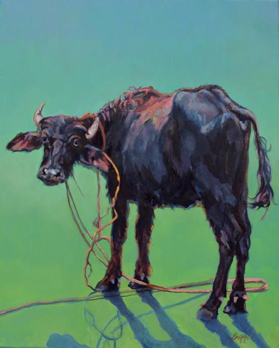 Patricia A Griffin,oil painting,wildlife,domestic,farm animal ...