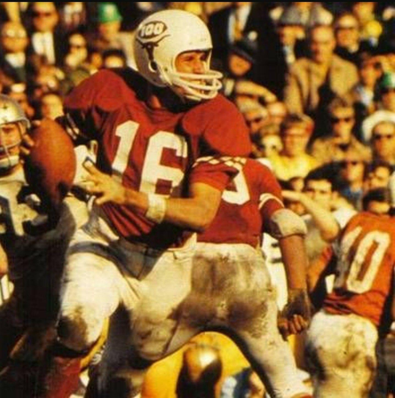 Quarterback James Street 1969, 200 as a starter at UT