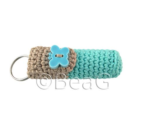 Keychain Lip Balm Holder (Lipcrèmehouder)
