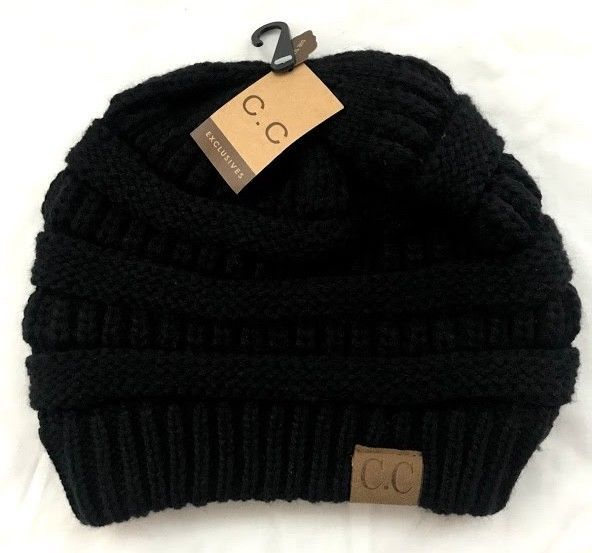 d34c090fba6 NEW with Tag! C.C. BEANIE Women s Exclusive Classic Thick Knit ...