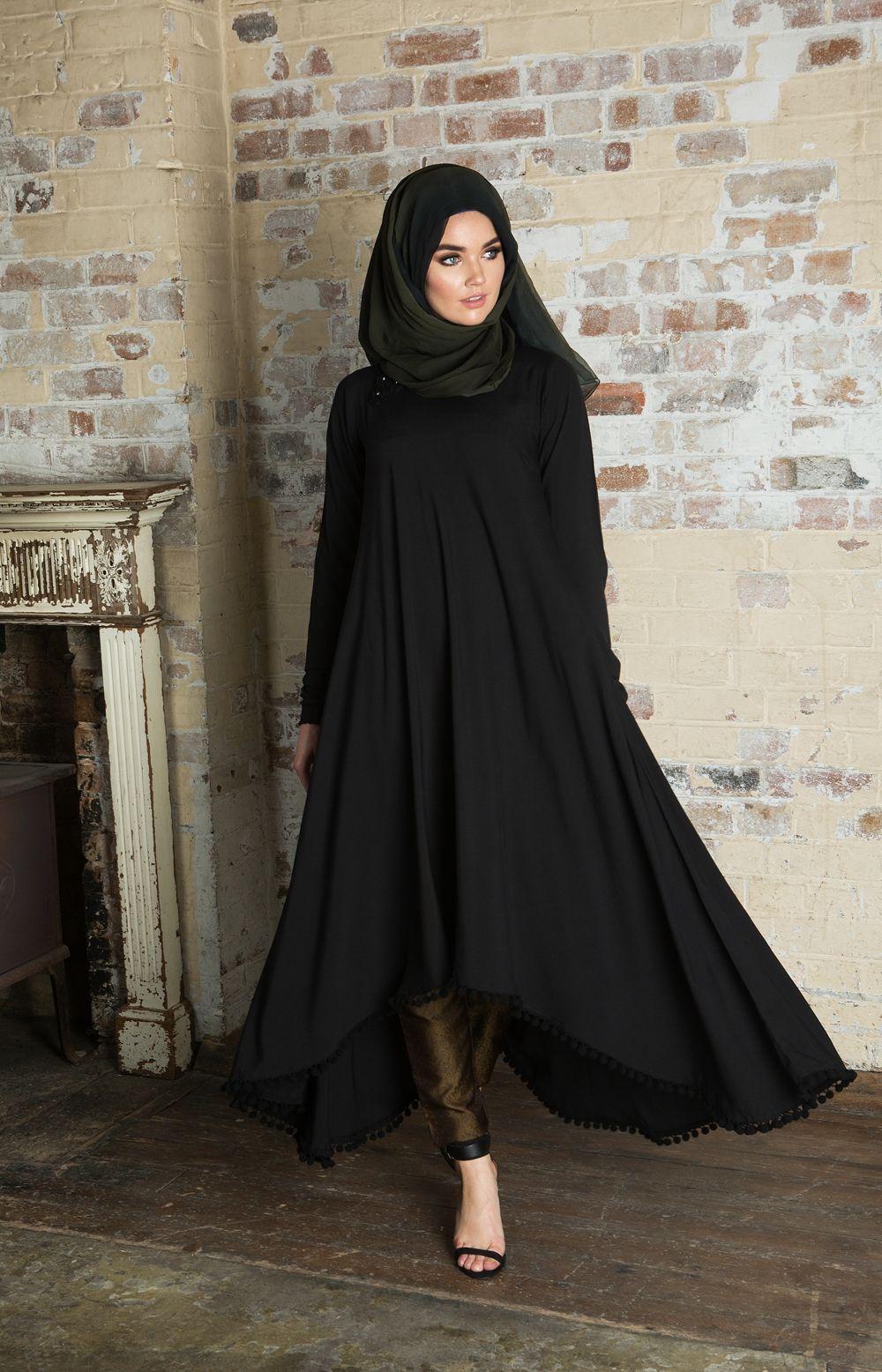 PomPom Midi Aab Hijab fashion, Fashion, Modest fashion