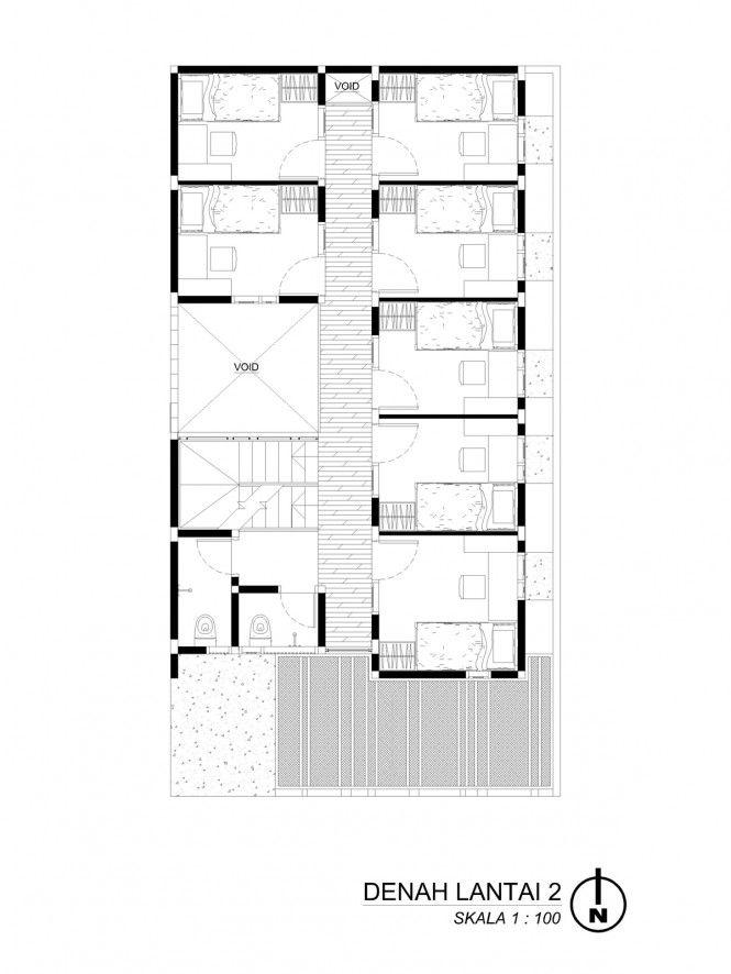 Andyrahman Architect Projects Denah Lantai Rumah Denah Lantai The Plan