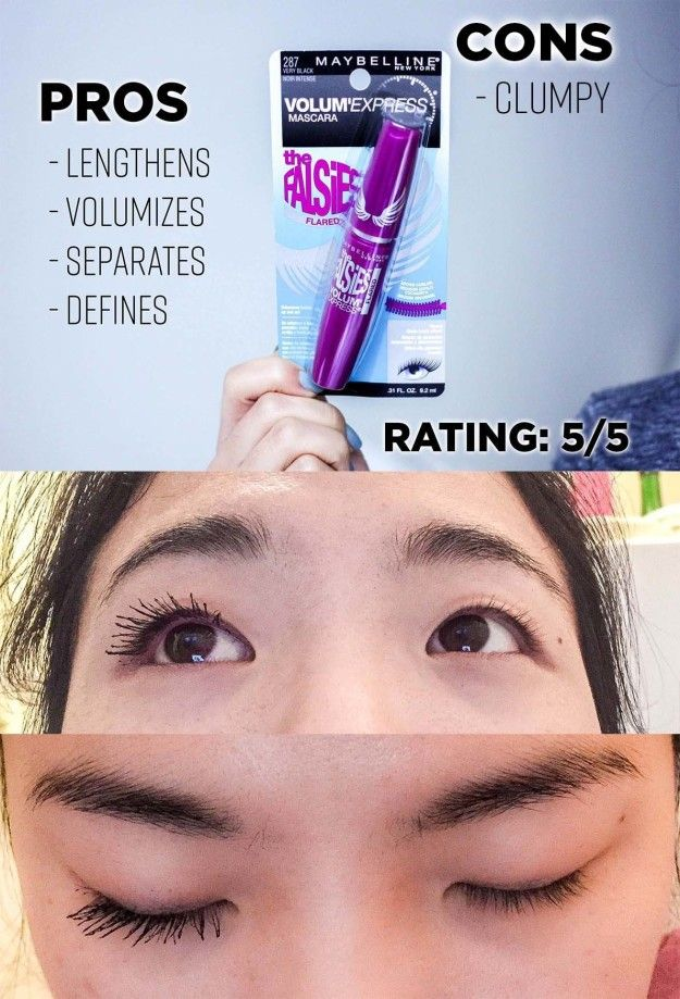 a9cba2b17f5 Maybelline Volum' Express: The Falsies Mascara ($4.99) | I Found The Best  Drugstore Mascaras That Are Actually Worth Your Money