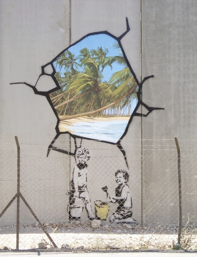 Banksy Was Here - The New Yorker