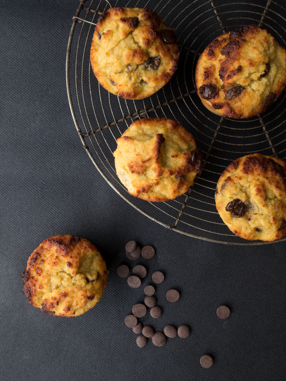 Muffins banane chocolat sur Coffee & Sugarettes
