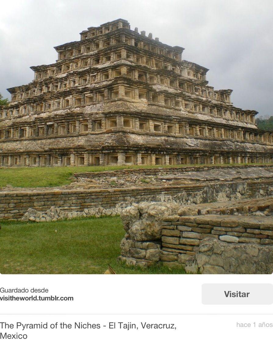 """Vale la pena visitar """"Tajin"""", ruinas arqueológicas muy cerca y muy interesantes y ¡bonitas!"""