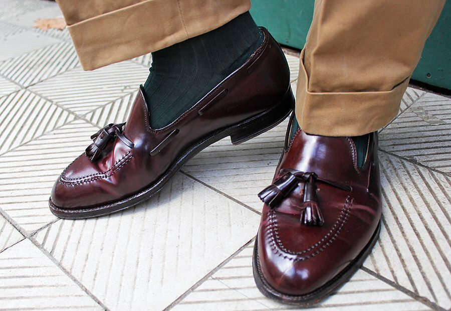d22670f7a Shell Cordovan Alden Tassel Loafer My best | Baju & Sepatu formal di ...