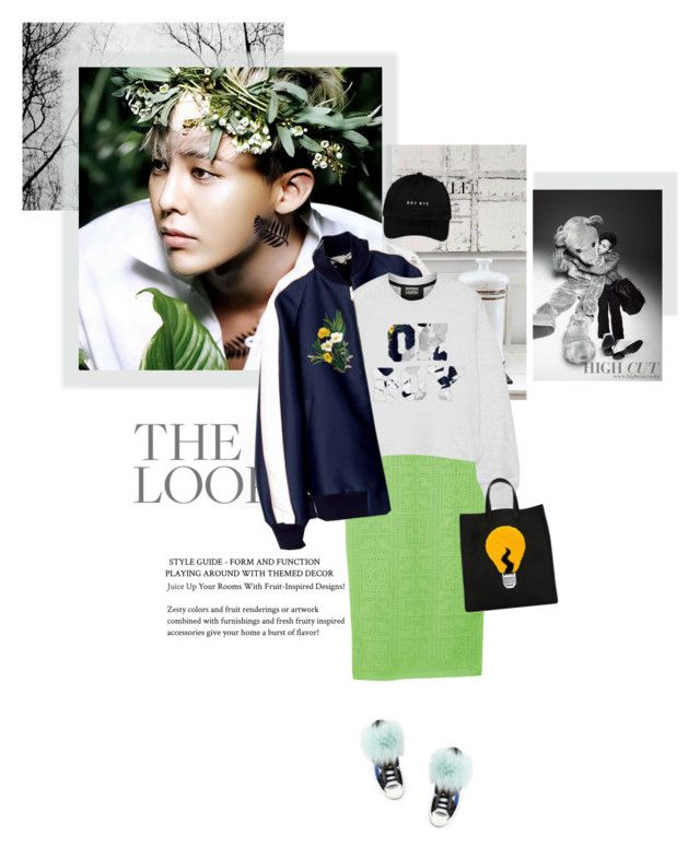 Happy birthday to the little dragon!  by girl-with-ideas on Polyvore featuring mode, Markus Lupfer, Fendi, bigbang, gdragon and happybirthdaytoGDragon