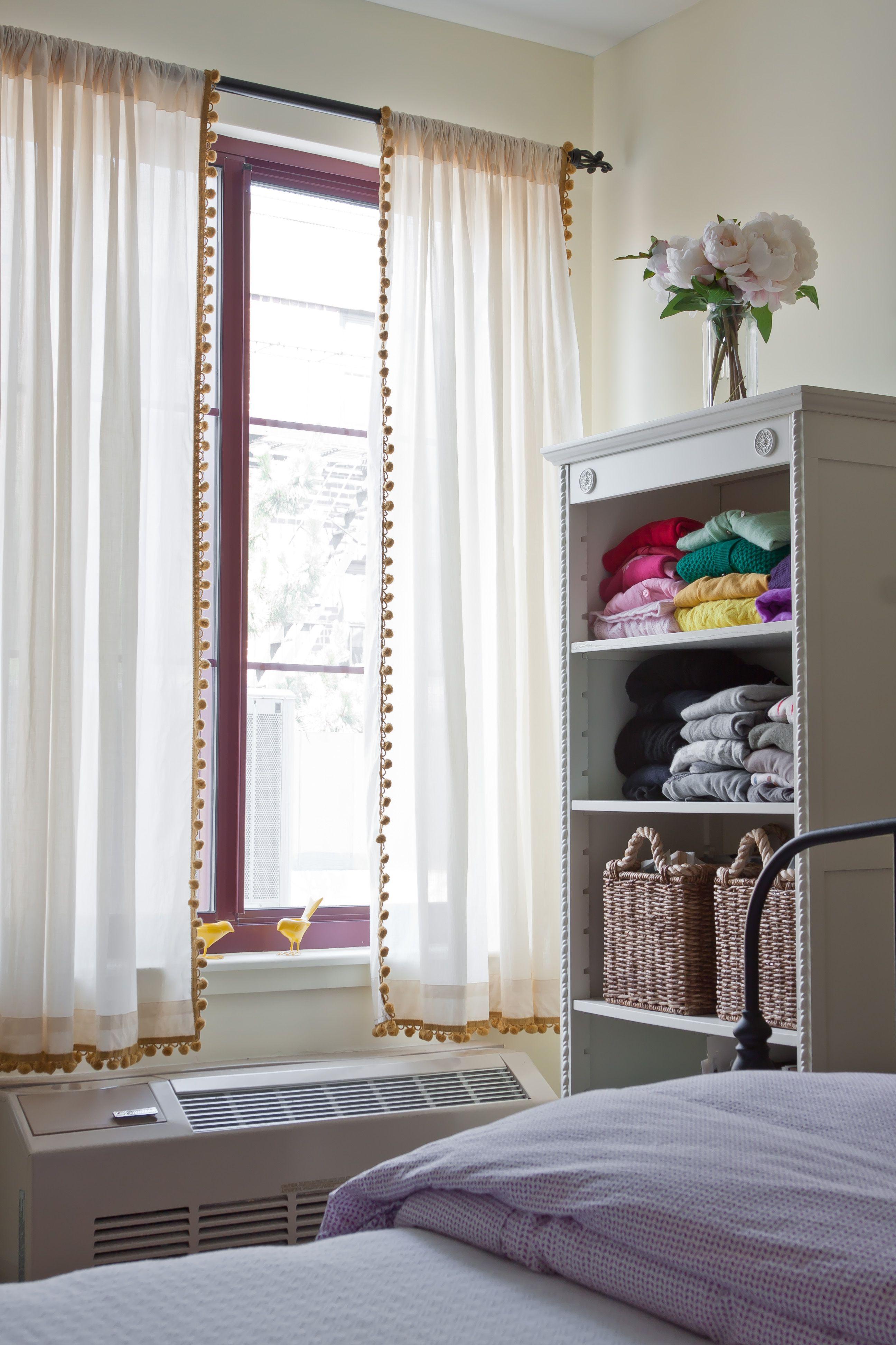 Pom Pom Trim On Curtains More