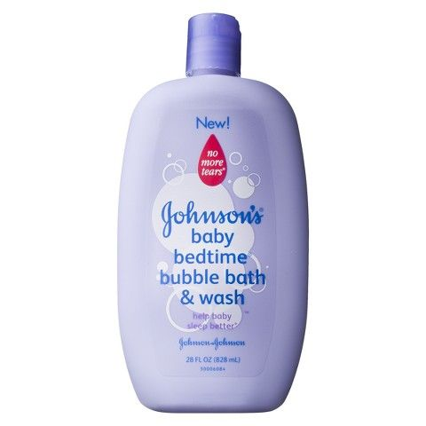 Johnson's Baby Bedtime Bubble Bath and Wash - 28 oz.