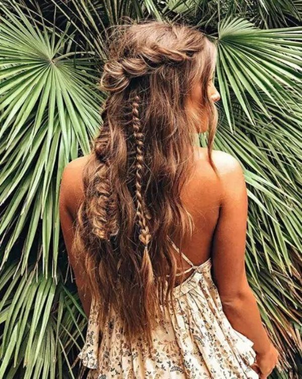 Hippie Hairstyles #hippie