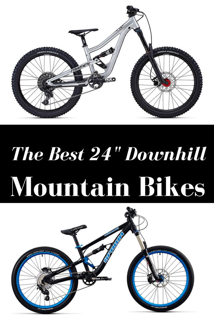 Best 24 Downhill Full Suspension Mountain Bikes For Kids