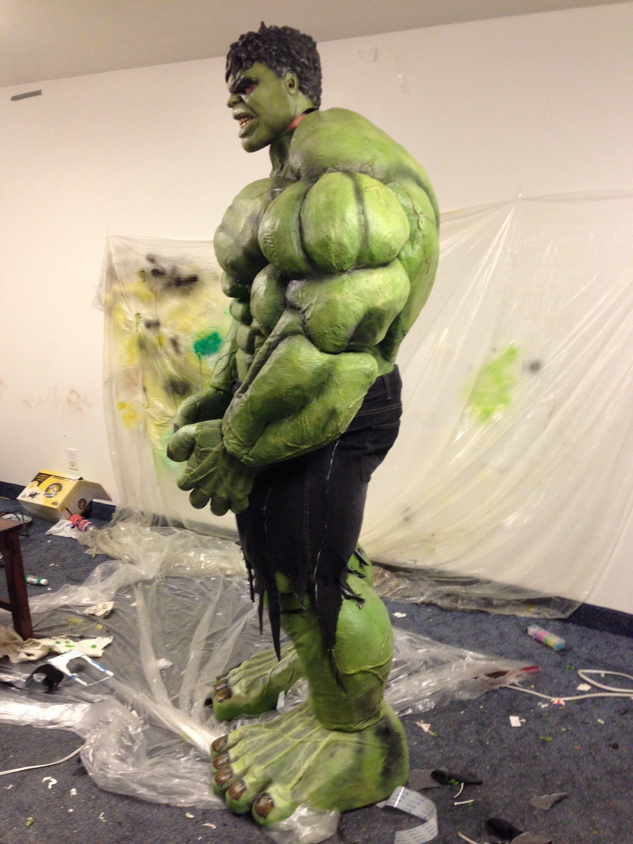 biopredators 2012 halloween costume contest entry incredible hulk