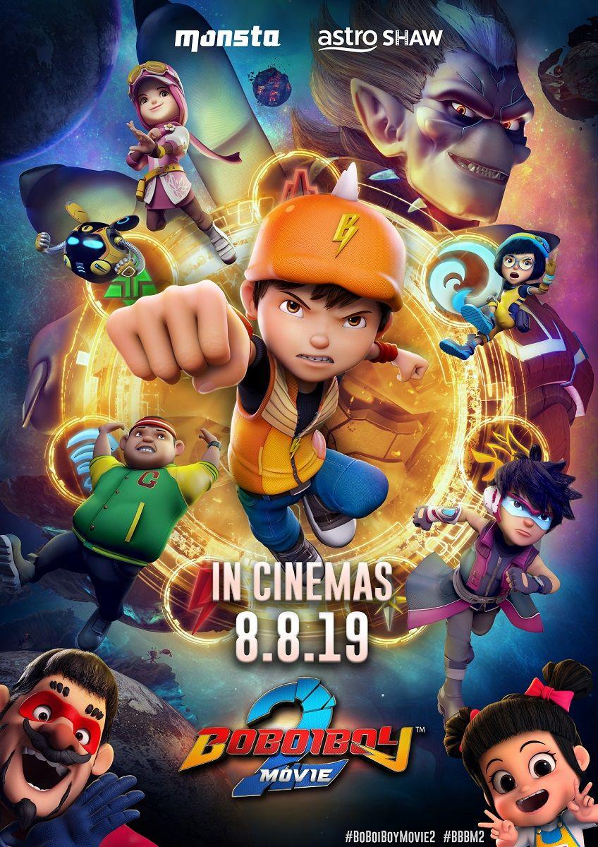 BoBoiBoy Movie 2 Film animasi, Bioskop, Animasi