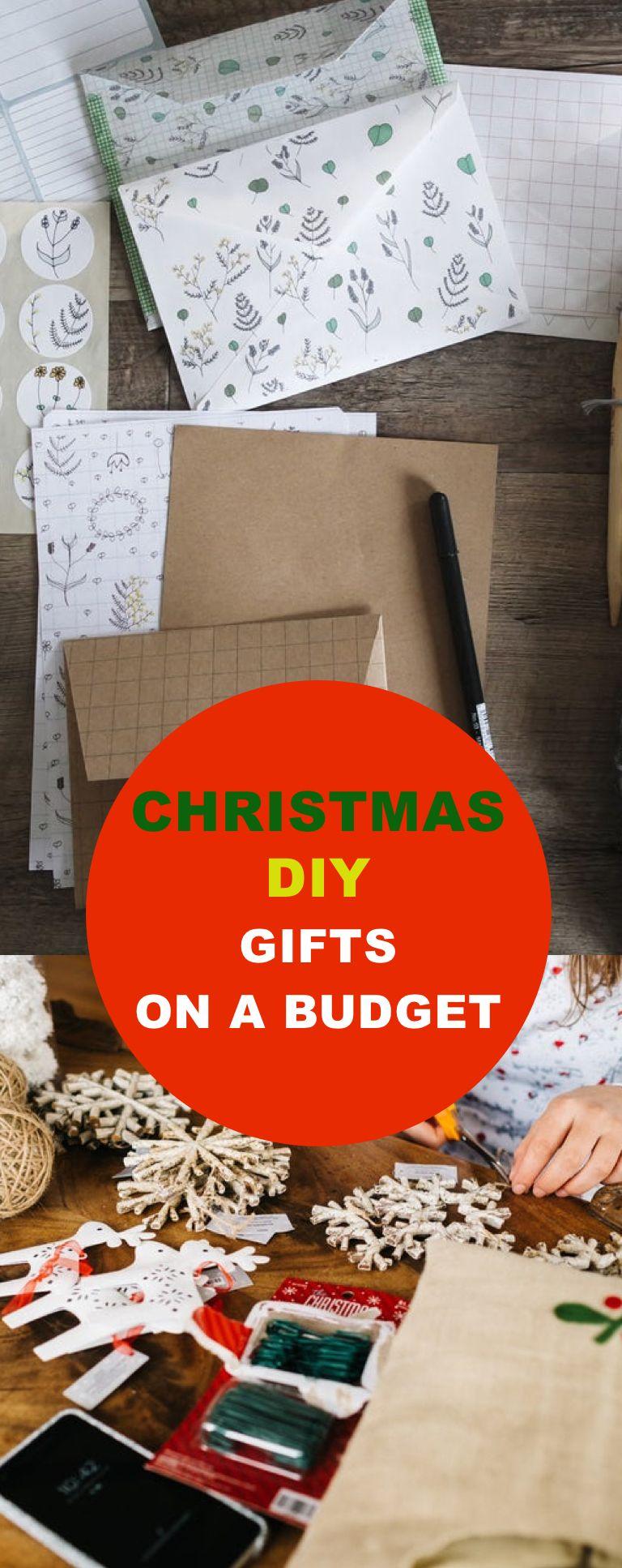 Christmas DIY Gifts On A Budget | Diy christmas gifts, Diy gifts on a budget, Diy crafts on a budget
