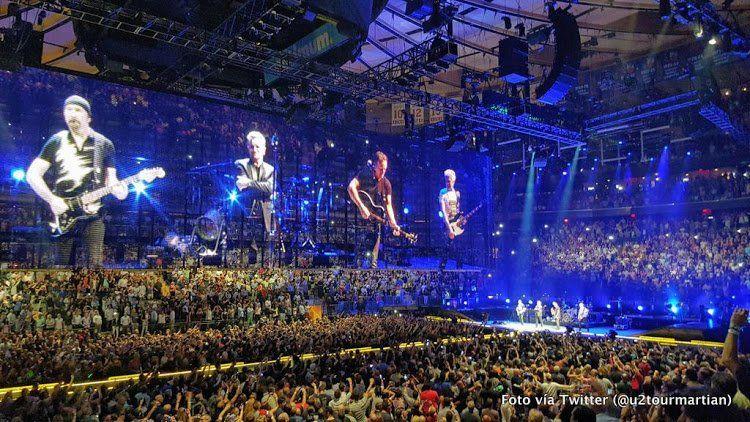 image u2innocenceexperience tour2015 new york madison square - U2 At Madison Square Garden