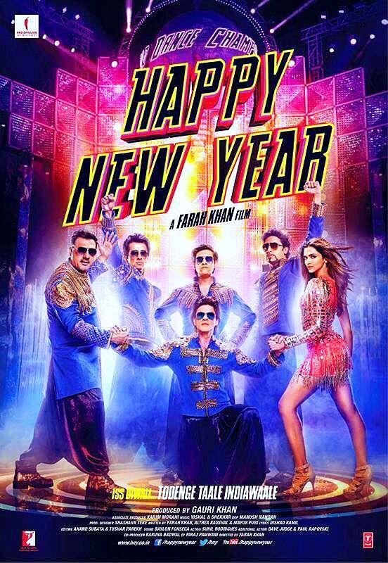 Happy New Year 2014 Deepika Padukone And Shahrukh Khan Anziehsachen