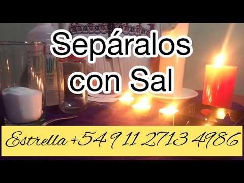 Sepáralos Definitivamente Con Sall Youtube Receta Para El Amor Hechizo Para Alejar Hechizo Para Separar