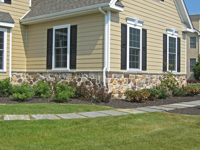 Vinyl Siding And Stone Combination Http Www