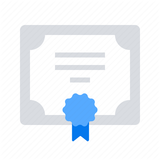 Certificate Diploma Icon Download On Iconfinder Icon Certificate All Icon