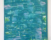 Risveglio - acrilico su cartone telato 25 x 35