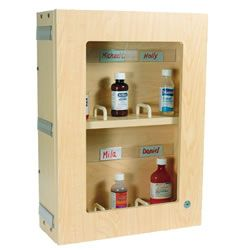Locking Medicine Cabinet Surface Mount Medicine Cabinet Bathroom Medicine Cabinet Steel Shelf