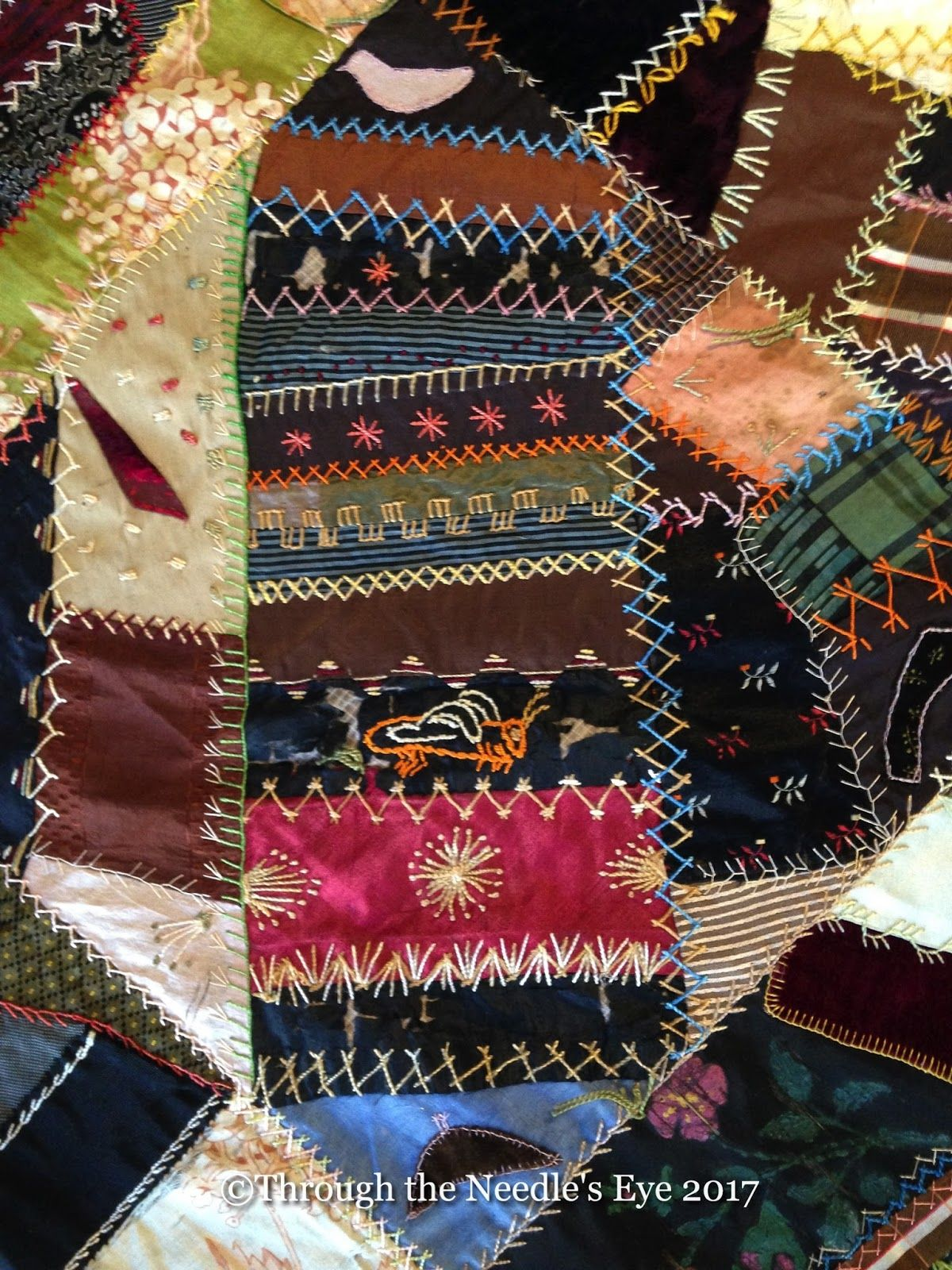 A Crazy Treasure crazy quilt patterns & ideas Pinterest