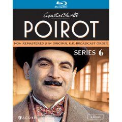 Agatha Christie S Poirot Series 6 Blu Ray David Suchet Agatha Christie Hercule Poirot Poirot British M Agatha Christie Poirot Agatha Christie S Poirot